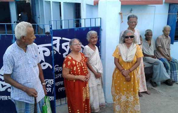 Soutien aux personnes âgées en Inde