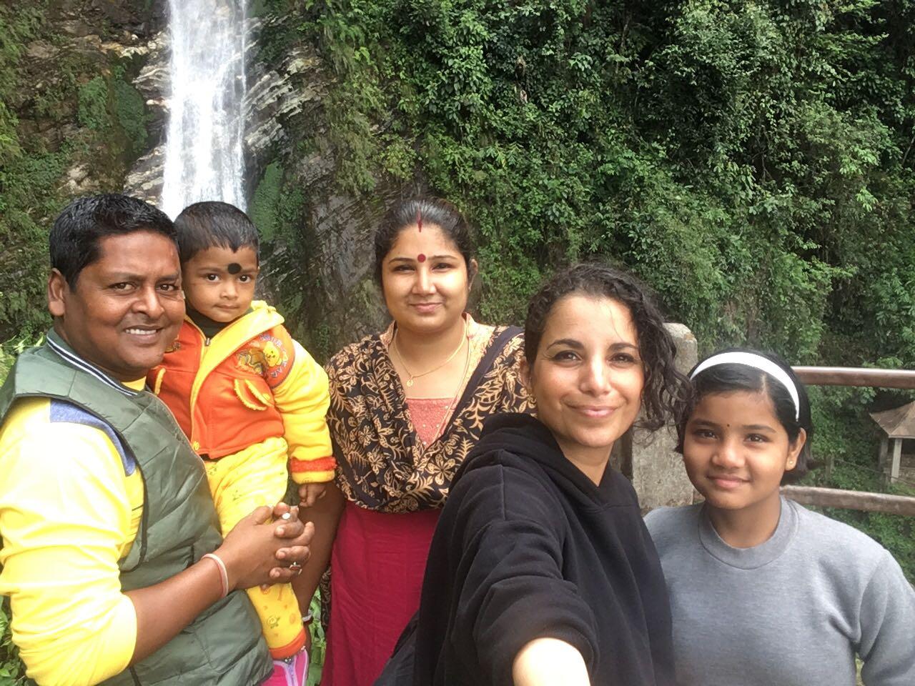 Famille d'accueil à Kolkata